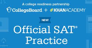 Official SAT website for Khanacademy.com