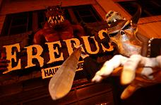 Erebus is rated out of these four as the scariest, most thrilling haunted attraction, with a scare rating of nine out of ten.