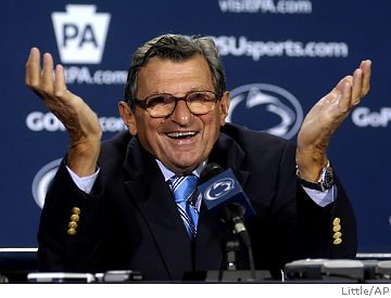 Penn State made the right choice to fire Paterno
