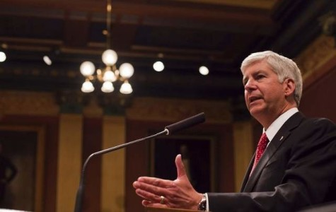 Rick Snyder proposes his new legislation idea in support of raising gas taxes in Michigan to provide funding for the roads.