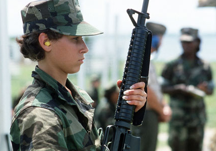Women Deserve the Right to Fight On the Front Line