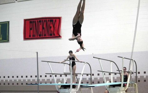Milford divers set personal bests, but fall short to Grand Blanc