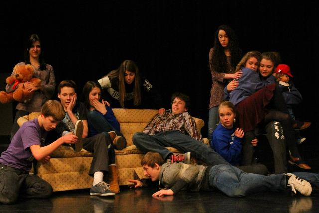 MHS Theatre Company presented The Curious Savage