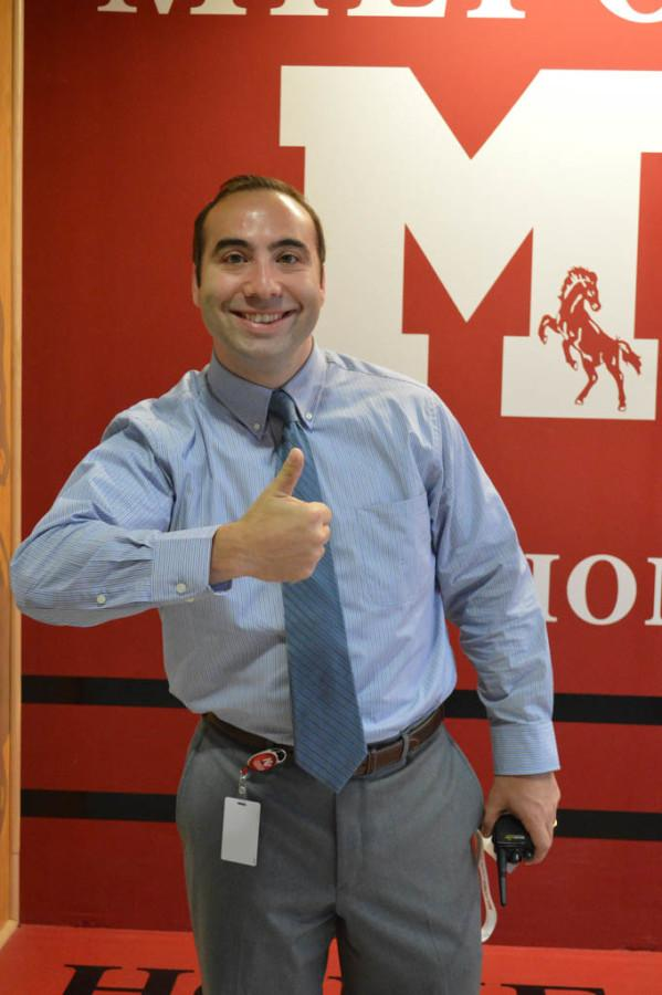 Mr. Taboh graduated from Milford in 2003. Twelve years later, he is back to lead the school as an assistant principal.