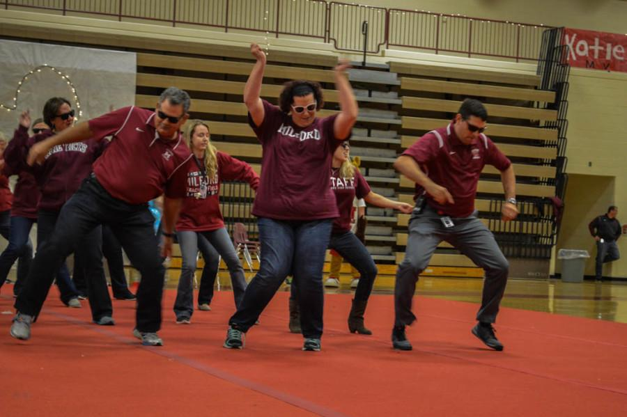 Pictures From Milford's Homecoming Pep-Assembly!