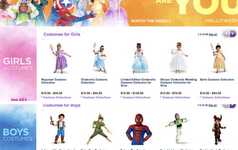 Disney Store Removes Gender Divided From Costume Collection