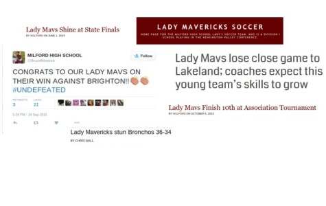 "Female athletes ask to just be called ""Mavs"" and drop the ""Lady"""