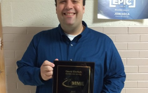 Milford Teacher Wins Award