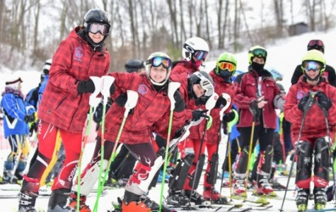 MHS skis to the finish line