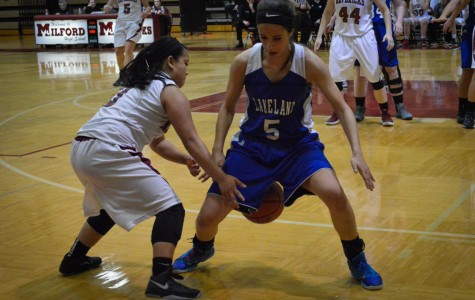 Champions! Girls basketball team triumphs over Lakeland at Districts
