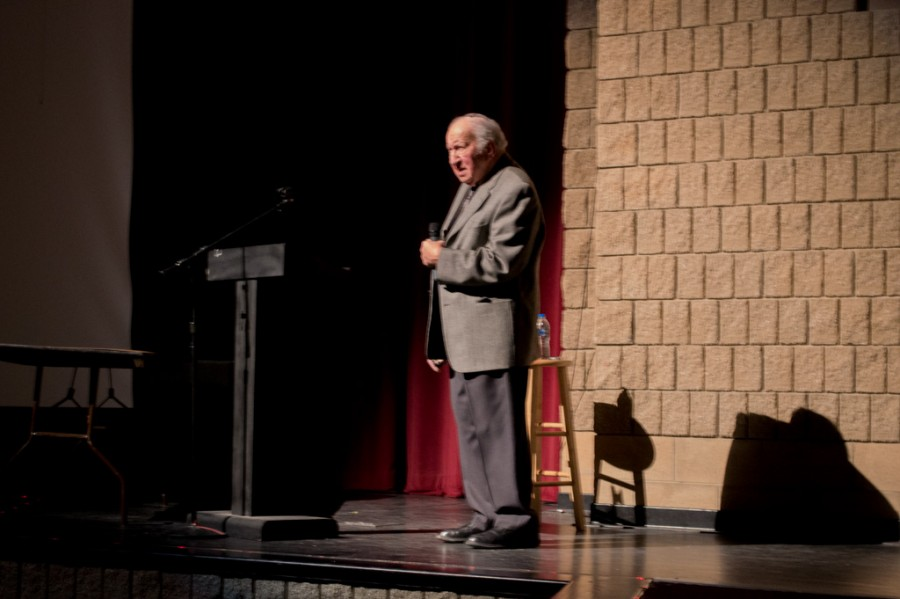 Holocaust Survivor touches the lives of Milford students