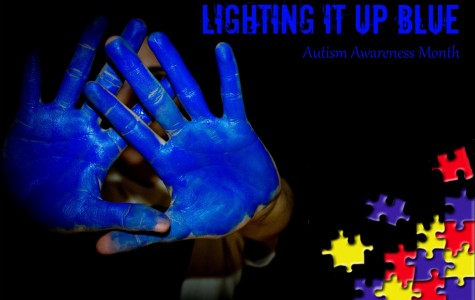 Lighting it up for Autism Awareness