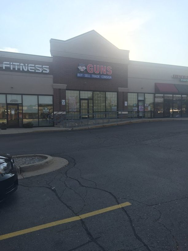 Gun store leaves Milford.