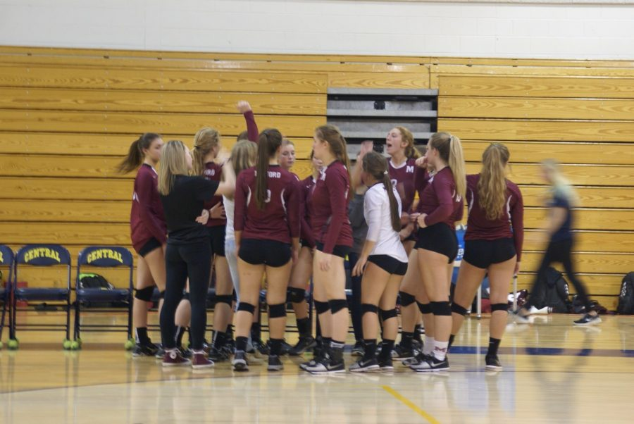 See photos of the final Milford volleyball game