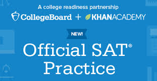 Official SAT website for Khanacademy.com