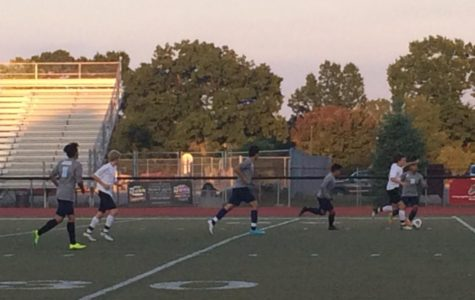 The Mavs in action against the Waterford Mott. They'd end up winning 5-0.