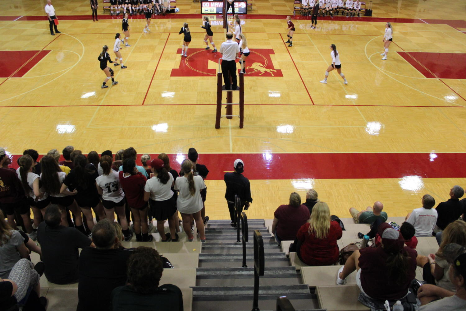 The+Milford+Volleyball+team+kicked+off+conference+play+with+a+win+over+Walled+Lake+Northern+in+5+sets.+
