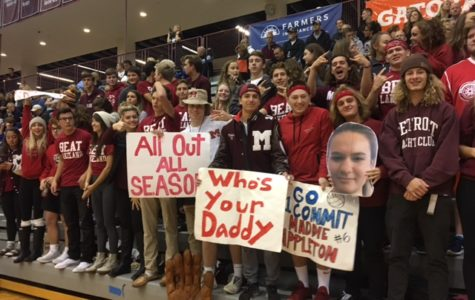 Milford students show full support at district opener