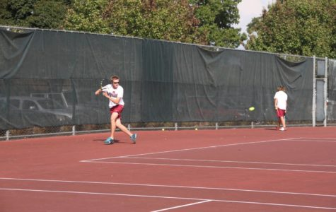 Milford Boys Varsity Tennis Continues to Stay Hopeful