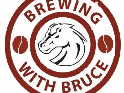 Students get their morning boost at Brewing with Bruce