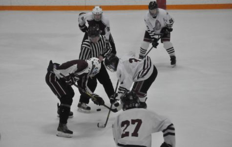 Varsity Hockey dominates against the Knights