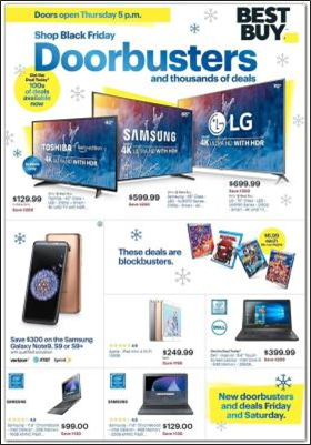 Best Buy's Black Friday preview ad