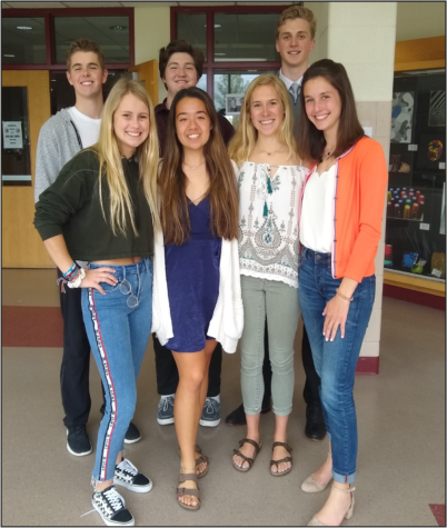 Milford's seniors of distinction are recognized for their achievements