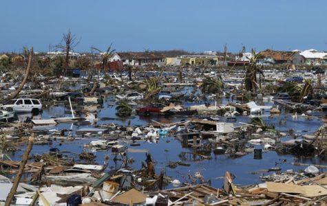 Devastation caused by Hurricane Dorian