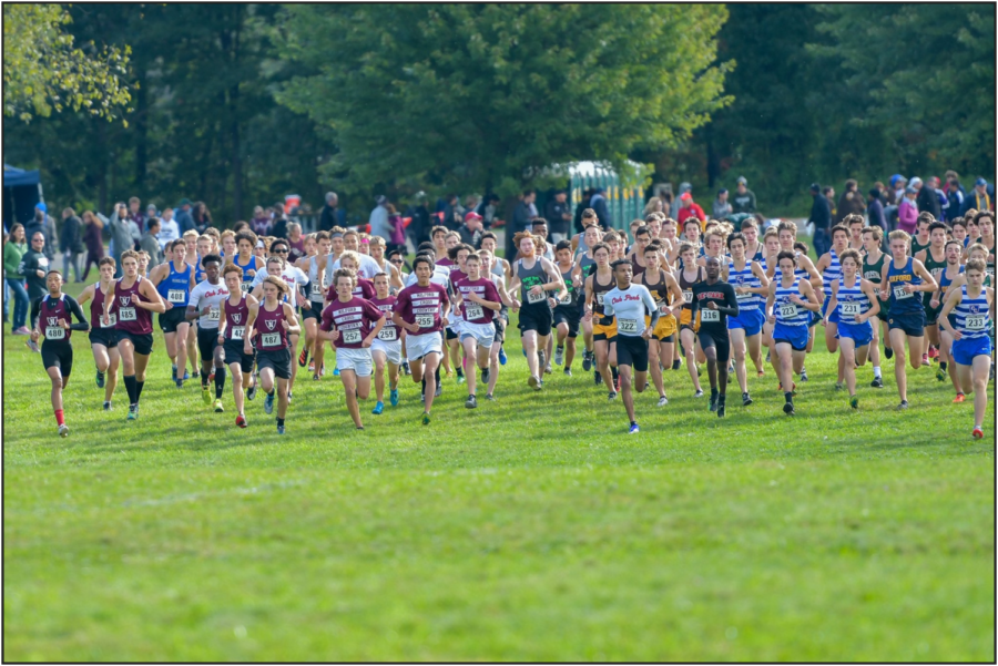 Milford Guys XC team: Outrunning the competition