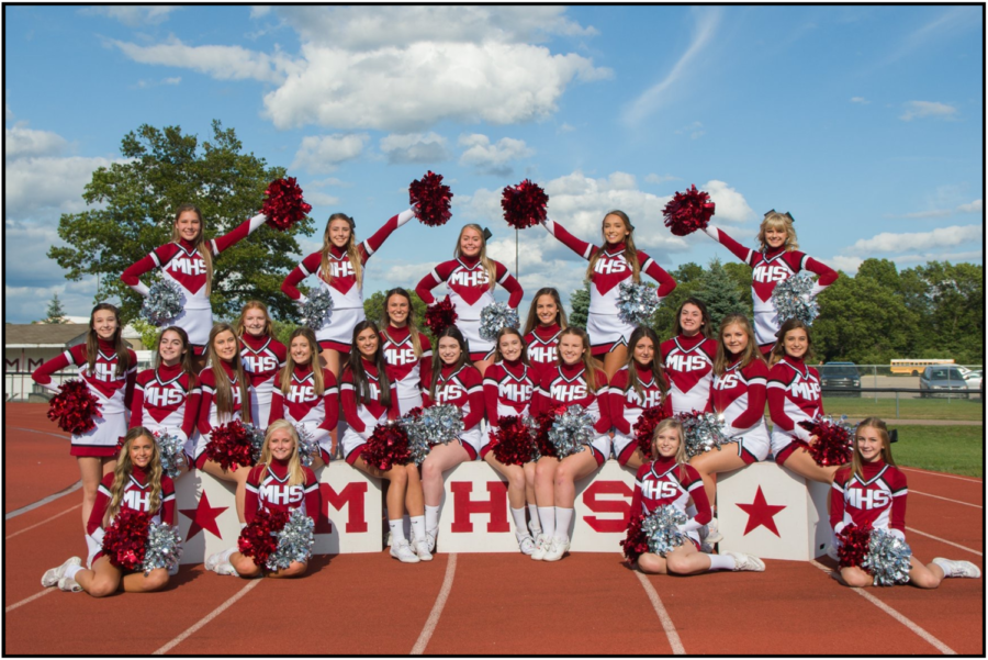 Cheerleaders taking the next step to finish on top
