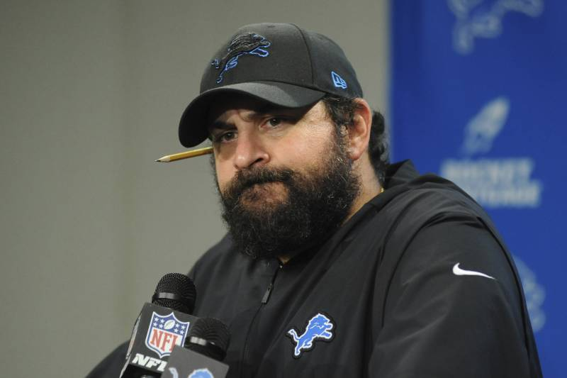 Matt+Patricia+In+A+Press+Conference+After+A+Loss