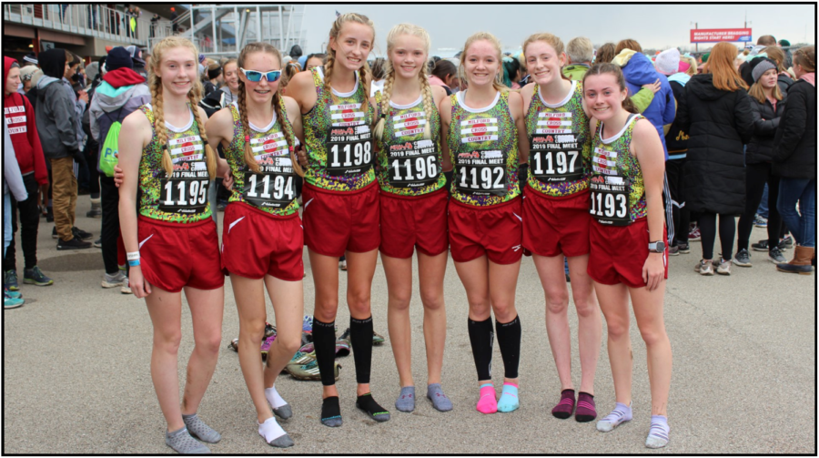 Girls Cross Country team finishes 20th at States