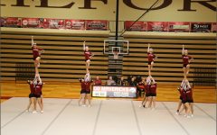MHS Competitive cheerleaders work to advance to regionals