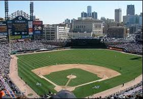 Comerica park home of the tigers