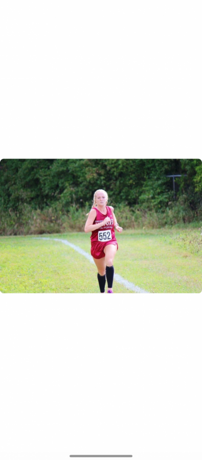 Junior Emma Collison has learned to adapt this season to make the most of her time running with the team.