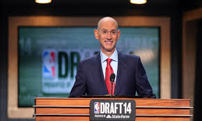 NBA Commissioner Adam Silver ready to announce the first pick