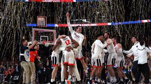 Virginia Cavaliers celebrating their 2019 March Madness Championship