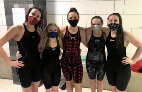 Girls swim team conquers official State Meet