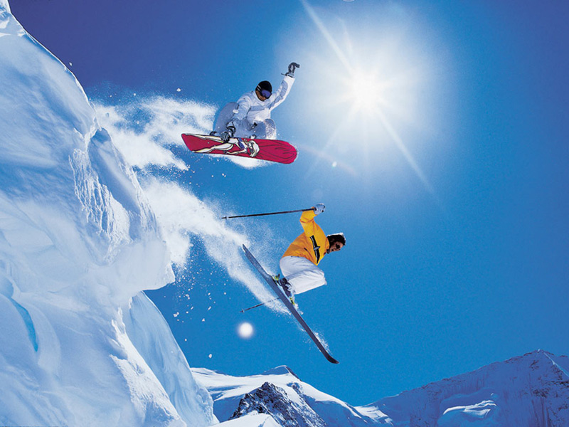 Many Milford students partake in snowboarding and skiing annually, enjoying the thrill that both winter sports offer.