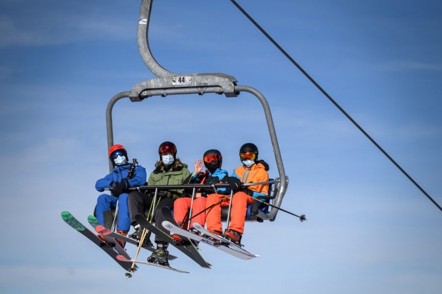 Skiing is one of many COVID-safe activities for friends and family to enjoy during the winter months.