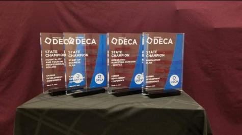 Virtual DECA States, MHS students achieve success