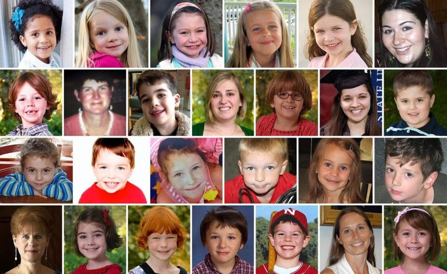 These are the 26 victims of the Sandy Hook shooting. There is not enough room in this caption to fit all of theirnames.
