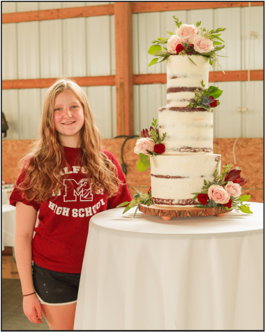 Milford student creates her own baking company