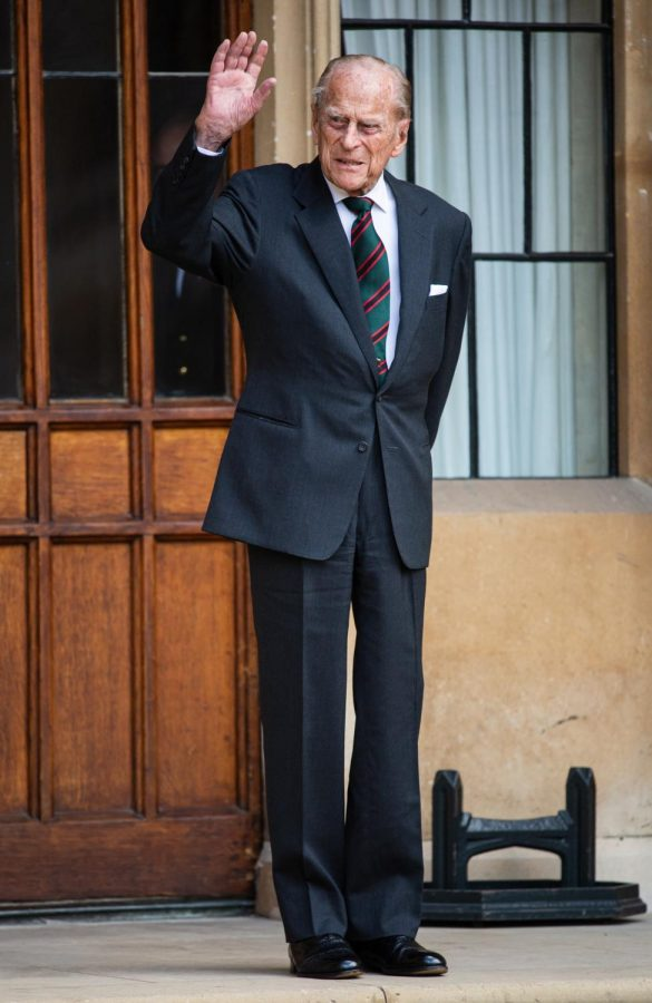 Prince Philip at Windsor Castle in 2020 (Photo courtesy of Vogue.com).