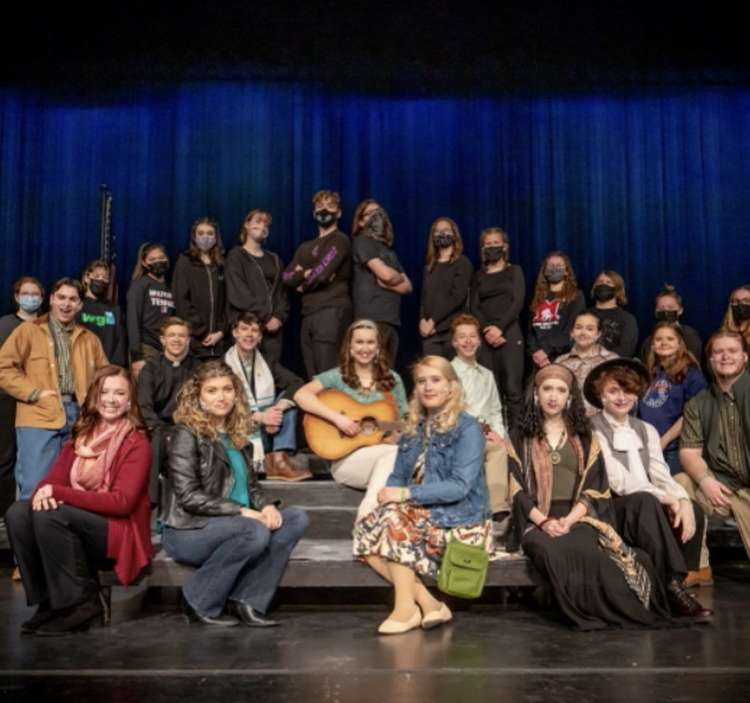 Many Milford seniors have spent countless hours committed to extracurricular activities, such as participating in theatrical productions (Photo courtesy of Tara Johnson).